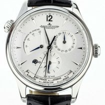 Jaeger-LeCoultre Master Geographic Steel 39mm Silver United States of America, Illinois, BUFFALO GROVE