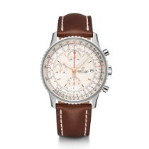 Breitling Navitimer Heritage Steel 41mm Silver United States of America, Iowa, Des Moines