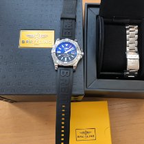 Breitling Avenger II GMT Steel 43mm Blue No numerals United States of America, Pennsylvania, Philadelphia