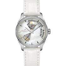 Hamilton Jazzmaster Lady Steel 36mm Mother of pearl Arabic numerals