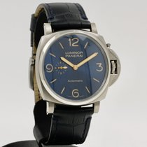 Panerai Luminor Due Tántalo 45mm Azul Árabes