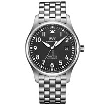 IWC Pilot Mark Steel 40mm Black Arabic numerals United States of America, Iowa, Des Moines