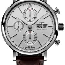 IWC Portofino Chronograph Steel 42mm Silver No numerals United States of America, Iowa, Des Moines