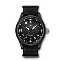 IWC Pilot Chronograph Top Gun Ceramic 41mm Black Arabic numerals United States of America, Iowa, Des Moines
