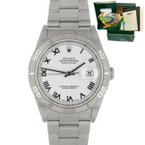Rolex Datejust Turn-O-Graph pre-owned 36mm White Date Steel