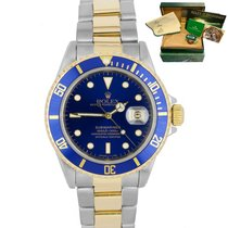 Rolex 16613 Gold/Steel Submariner Date 40mm pre-owned United States of America, New York, Massapequa Park