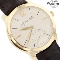 H.Moser & Cie. new Manual winding 39mm Yellow gold Sapphire crystal