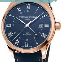 Frederique Constant 42mm GMT FC-350NR5B4 new