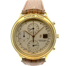 Audemars Piguet Huitième Yellow gold 40mm Silver No numerals United States of America, New York, New York