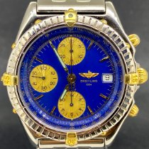 Breitling Chronomat B13048 Very good Gold/Steel 39mm Automatic
