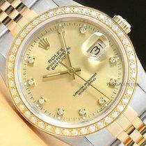 Rolex Datejust Steel 36mm Champagne United States of America, California, Chino Hills