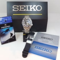 Seiko Marinemaster Steel 45mm Black No numerals United States of America, California, El Segundo