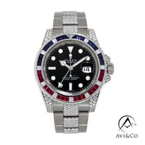 Rolex GMT-Master II White gold 40mm Black No numerals United States of America, New York, New York