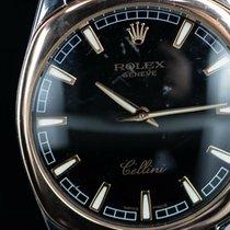 Rolex Cellini Danaos Acél 38mm Fekete