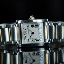 Cartier Tank Française Steel 28mm White Roman numerals United States of America, New York, Brooklyn