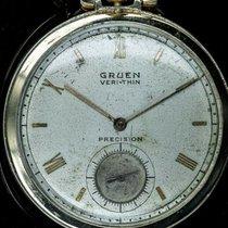 Gruen 44mm Manual winding 385-571 pre-owned