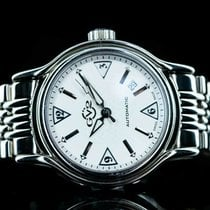 Gevril Steel 40mm Automatic 4120 pre-owned