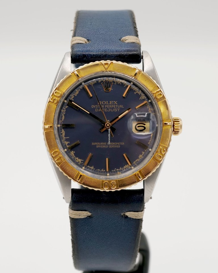 Rolex Datejust Turn-O-Graph 1625 1974 pre-owned