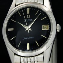 Omega Seamaster Steel 33mm Black No numerals