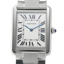 Cartier Tank Solo Steel 27mm Silver Roman numerals United States of America, New York, New York