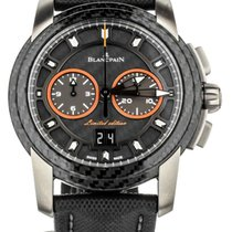 Blancpain L-Evolution pre-owned 44mm Chronograph Date Calf skin