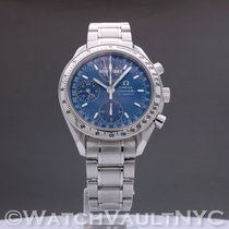 Omega Speedmaster Day Date Steel 39mm Blue United States of America, New York, White Plains