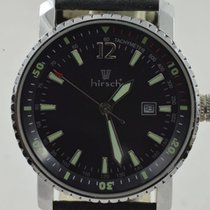 Hirsch Steel 40mm Quartz pre-owned
