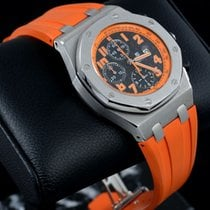 Audemars Piguet Royal Oak Offshore Chronograph Volcano подержанные 42mm Хронограф Дата