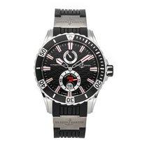 Ulysse Nardin Diver Chronometer pre-owned 44mm Black Date Fold clasp