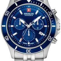 Swiss Military Hanowa Flagship Acero 42mm Azul