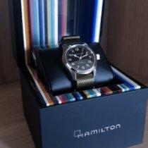 Hamilton H70605731 Steel Khaki Field 42mm new