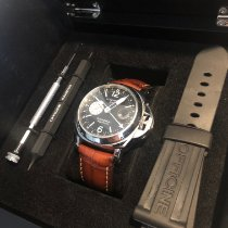 Panerai Luminor GMT Automatic Steel 44mm Black Arabic numerals United Kingdom, Brentwood