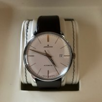 Junghans Meister Classic occasion 38,4mm Argent Date Cuir
