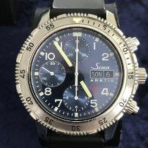 Sinn 203 Steel 40,5mm Blue Arabic numerals