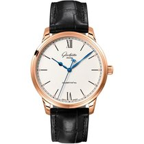 Glashütte Original Senator Excellence Rose gold 40mm Silver Roman numerals United States of America, New York, New York