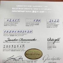 Glashütte Original Senator Chronometer neu 2019 Handaufzug Uhr mit Original-Box und Original-Papieren 1-58-01-05-34-30