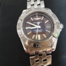 Breitling Cockpit Lady Staal 32mm Bruin Romeins Nederland, Oss