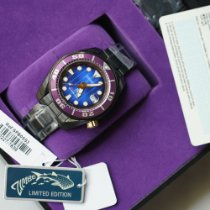 Seiko Prospex Steel 45mm Purple No numerals