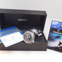 Seiko Marinemaster Steel 47.7mm Black No numerals United States of America, California, El Segundo