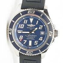 Breitling Superocean 42 Acero 42mm Azul Árabes