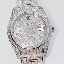 Rolex Datejust II Steel 41mm No numerals
