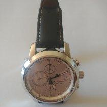 Tissot PRC 200 occasion 42mm Blanc Chronographe Date Cuir