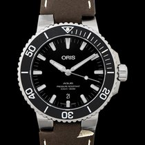 Oris Aquis Date Steel 43.5mm Black United States of America, California, Burlingame