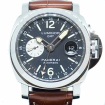 Panerai Luminor GMT Automatic Steel 44mm Black Arabic numerals Singapore, Singapore