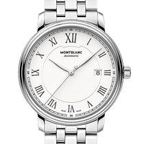 Montblanc Tradition Steel 40mm White Roman numerals