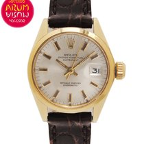 Rolex Oyster Perpetual Lady Date Oro amarillo 24mm Plata España, Madrid