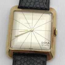 Doxa nuevo Cuerda manual Segundero central 30mm Oro amarillo