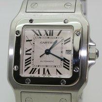 Cartier Santos Galbée Stahl 30mm Silber