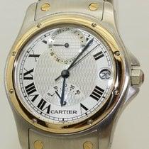 Cartier Or/Acier 34mm Remontage automatique Santos (submodel) occasion