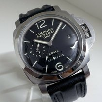 Panerai Luminor 1950 8 Days GMT Steel 44mm Black